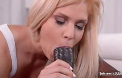Big Black Dick For A Blonde Lady