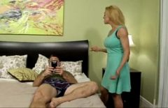 He Blackmails Him That If He Doesn't Fuck Her Anal, He Separates Him From His Wife