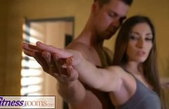 She Calls Him Home On The Pretext That He Wants To Learn To Do Yoga