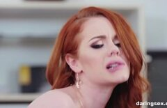 The Redhead Escort Has Sex With Great Pleasure