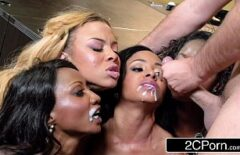 These Girls Love To Have Cum On Their Faces