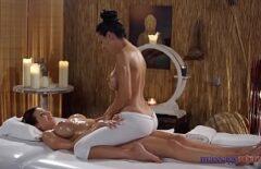 Erotic Massage Between Two Gorgeous Women