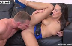 Oral Sex With A Brunette Who Looks Very Perfect